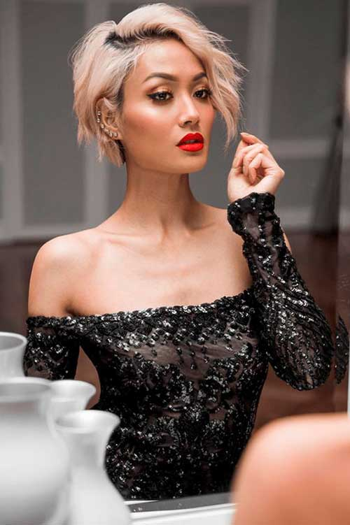 Micah-Gianneli-Bob-Hair Latest Short Haircuts for Women - Short Hairstyle