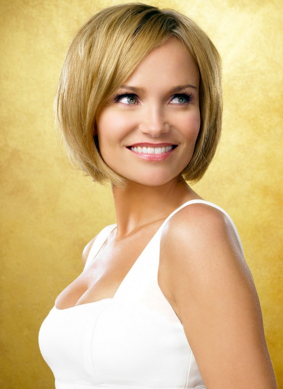 Nice-and-Lovely-Bob-Hair-with-Awesome-Layers-and-Nice-Side-swept-Hair Best Bob Hairstyles 2019