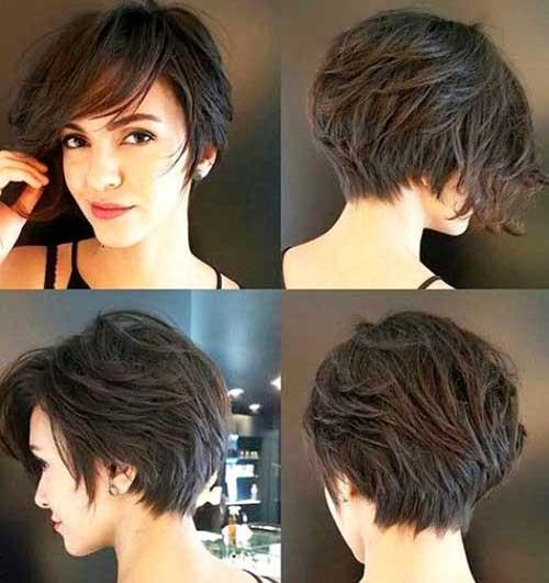 Pixie-Bob-Cut Latest Short Haircuts for Women - Short Hairstyle