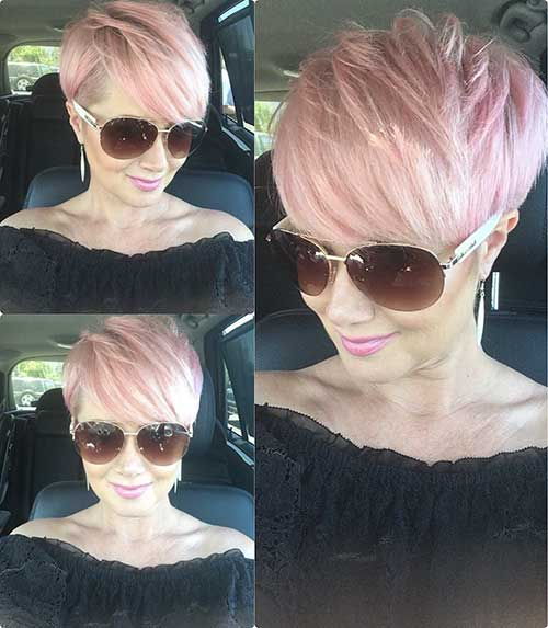 Pixie-Hair Best Short Layered Haircuts for Women Over 50