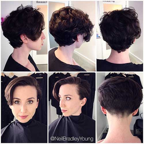 Pixie-Style Alluring Short Curly Hair Ideas for Summertime