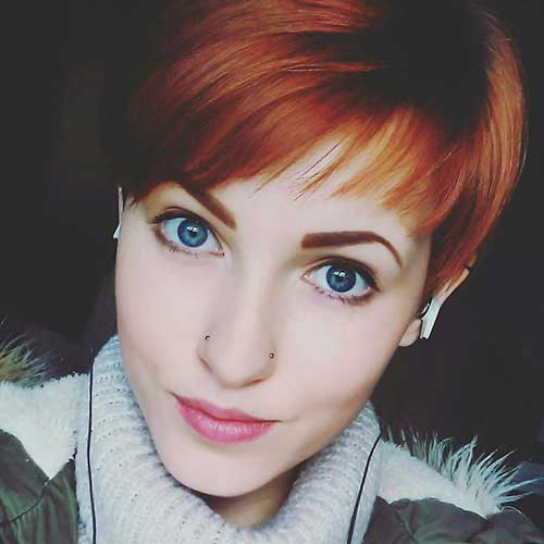 Pretty-In-Pixie Eye-Catching Short Red Hair Ideas to Try