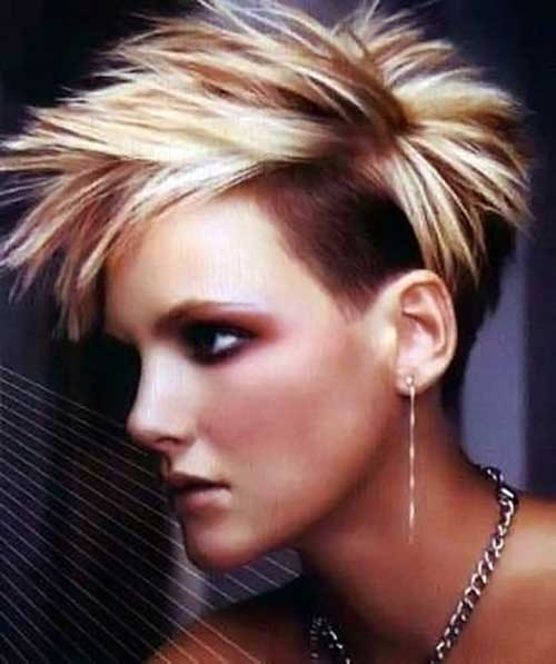 Punk-Short-Pixie-Hair-Idea Best Punky Short Haircuts