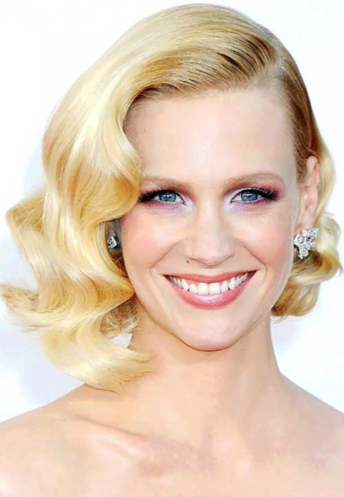 Retro-Hairstyle-for-Older-Ladies Bob Hairstyles for Older Ladies