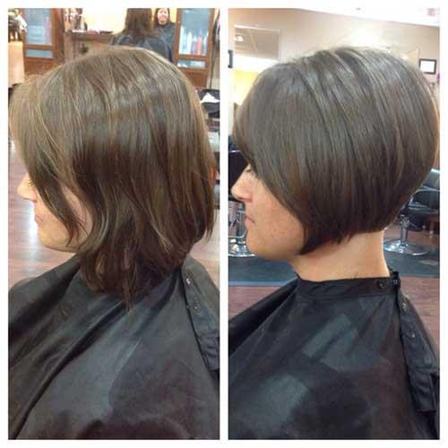 Short-Bob-for-Fine-Hair Latest Short Bob Haircuts for Women