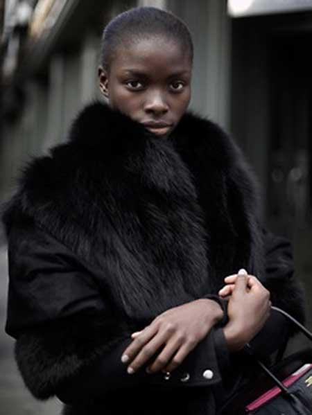 Short-Dark-Straight-Neat-Hair Nice Short Haircuts for Black Women