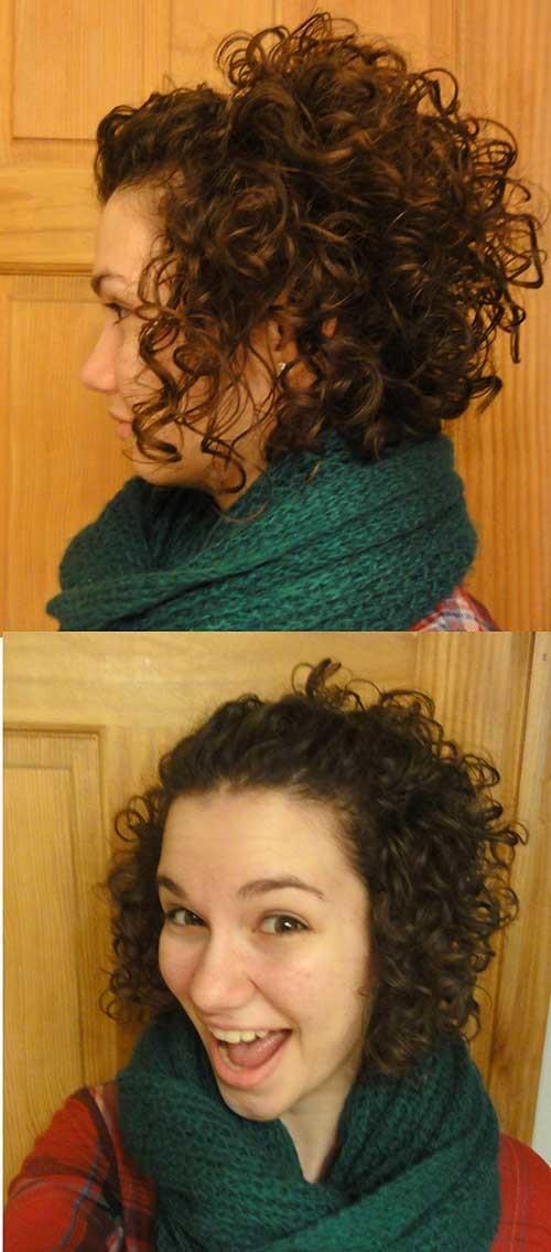 Short-Haircuts-For-Curly-Hair-5 Cute Short Haircuts For Curly Hair