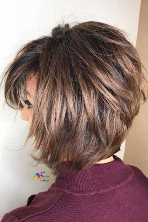 Short-Layered-Haircut Best Short Layered Haircuts for Women Over 50