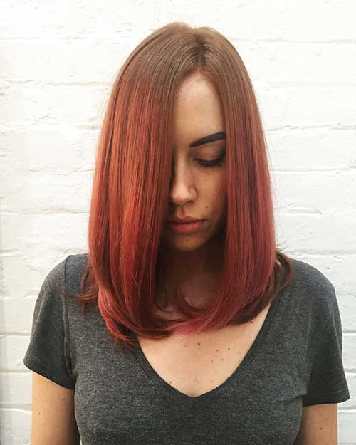 Short-Red-Hair Eye-Catching Short Red Hair Ideas to Try