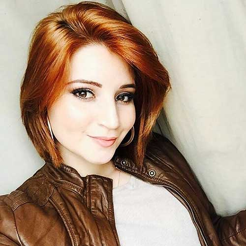 Short-Red-Hairstyle Eye-Catching Short Red Hair Ideas to Try