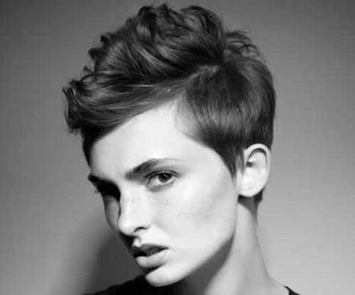 Short-Side-Mohawk-Pixie-Hairdo-for-Girls Best Pixie Haircuts