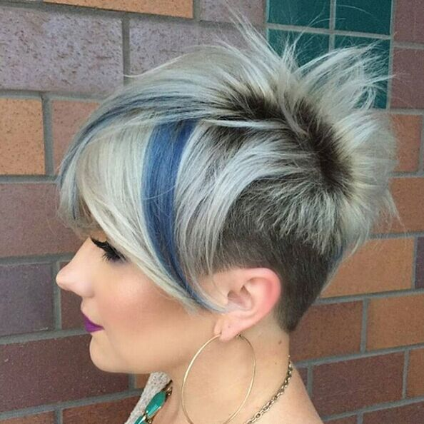 Short-Spikey-Hairstyle Awesome Undercut Hairstyles for Girls