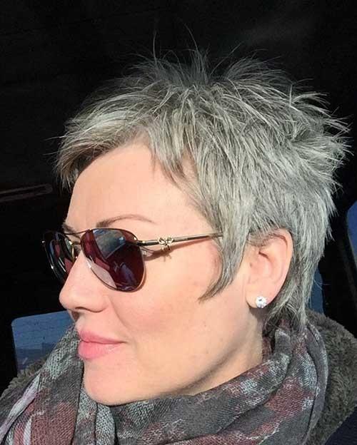Short-Spiky-and-Boyish-Haircut-for-Women Best Pixie Haircuts