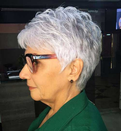 Short-Stacked-Pixie 2019 Short Haircuts for Older Women