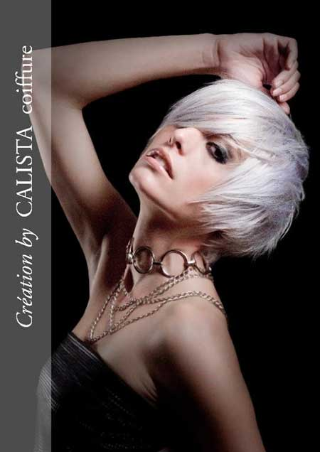 Short-Straight-Messy-Platinum-Bob Short Trendy Hairstyles for Women