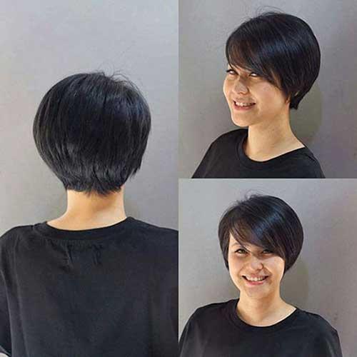 Straight-Hair-1 Latest Short Bob Haircuts for Women
