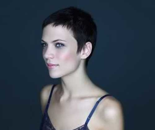 Super-Short-Trimmed-Hairstyle-for-Women Best Pixie Haircuts