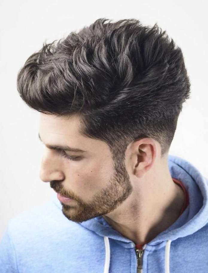Textured-Faded-Undercut Stylish Undercut Hairstyle Variations For 2019