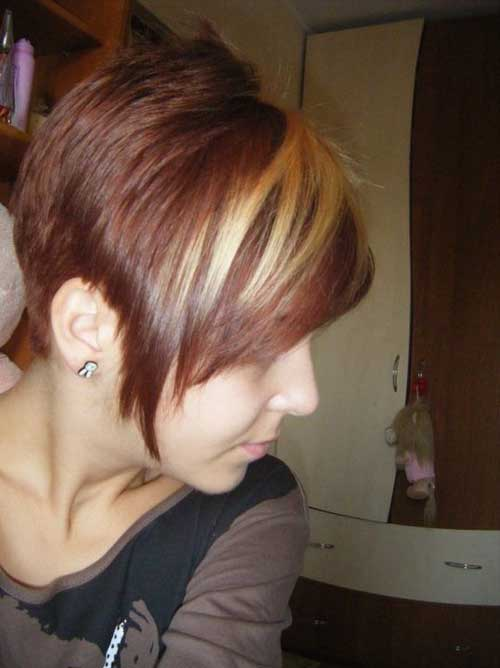 Trendy-Super-Short-Hair-10 Best Pics of Layered Short Hair for Round Face
