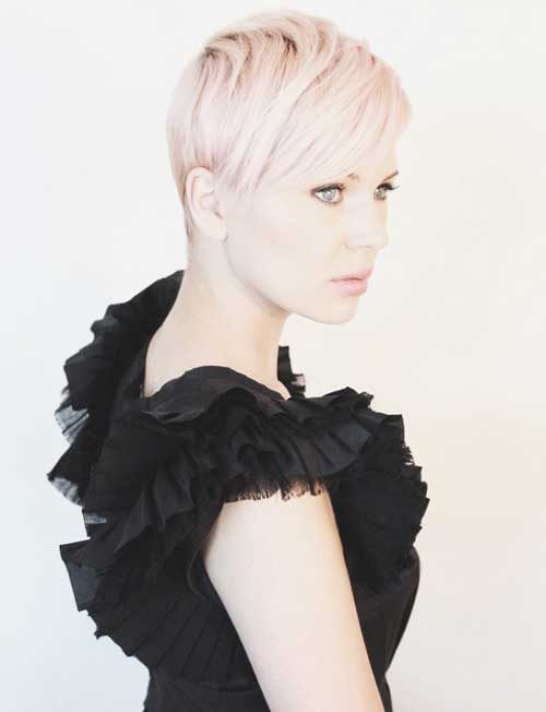Trendy-Super-Short-Hair-4 Best Pics of Layered Short Hair for Round Face