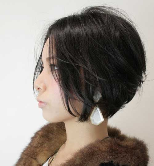 Trendy-bob-cuts-2013 Best Pics of Layered Short Hair for Round Face