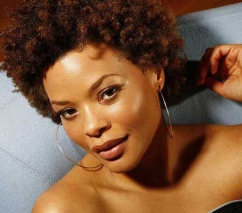 Twist-out-on-short-hair Black Women with Short Hairstyles