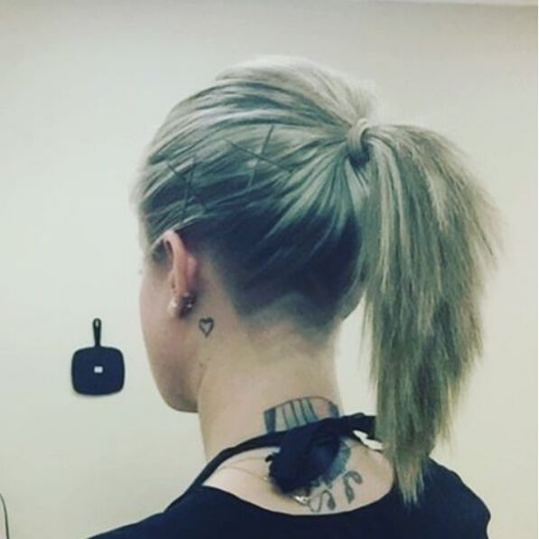 Undercut-Ponytail-Hairstyle Awesome Undercut Hairstyles for Girls