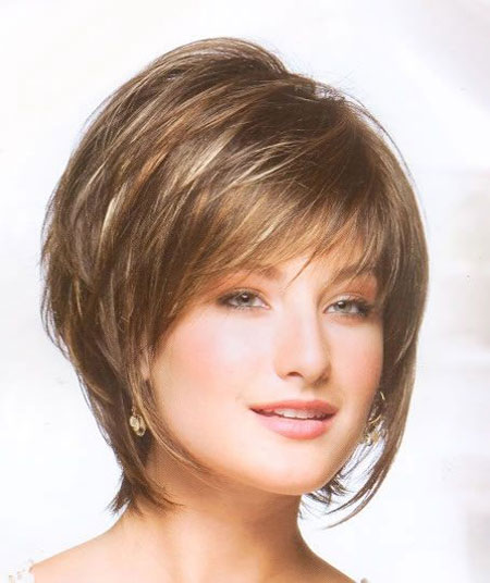 Very-Alluring-and-Attractive-Bob-Hair-with-Awesome-Fine-Bangs-and-Cool-Lovely-Layers Best Bob Hairstyles 2019