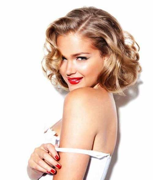 Very-Short-Thick-Curly-Bob-Hair-Style Very Short Curly Hair 2019