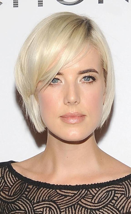 short-bangs-with-bob Very Short Haircuts with Bangs for Women