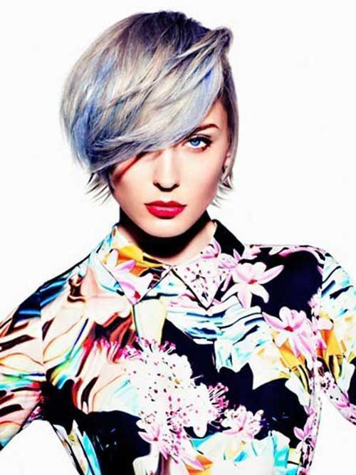 10.Short-Hair-Color-Trend-2016 Nice Short Natural Curly Hairstyles