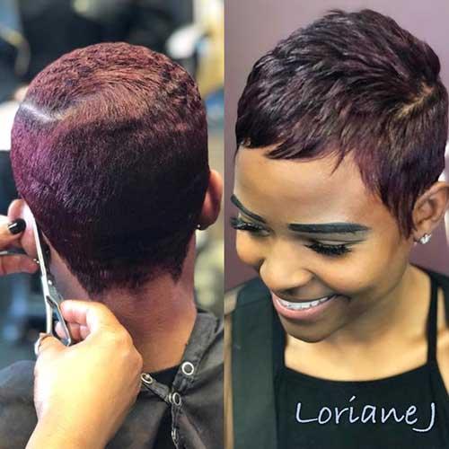 16.Short-Pixie-for-Black-Women Latest Short Pixie Cuts for Black Women