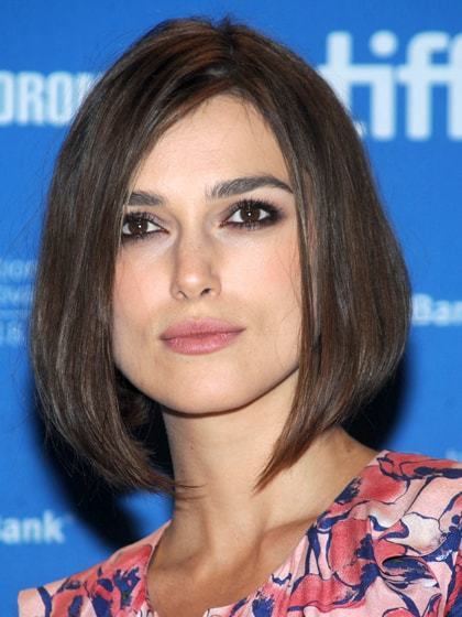 A-line-bob Hypnotic Short Hairstyles for Women with Square Faces