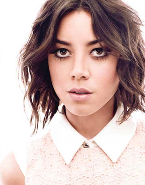 Asymmetrical-Bob-Short-Hair-for-Celebrities Female Celebrity Short Haircuts 2015