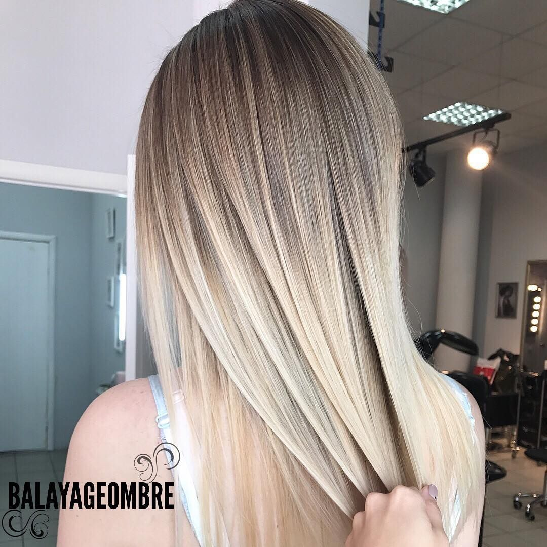 Balayage-ombre-straight-hair-style-for-girls Alluring Straight Hairstyles for 2019 (Short, Medium & Long Hair)