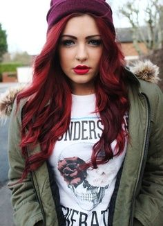 Best-Hairstyles-for-Red-Hair-Curls-Outwards Best Hairstyles for Red Hair 2019
