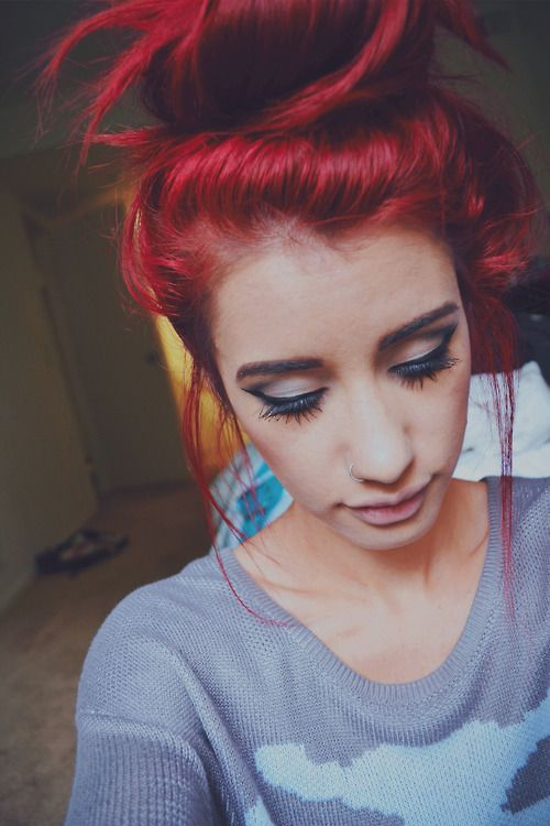 Best-Hairstyles-for-Red-Hair-Loose-Hair-Knot Best Hairstyles for Red Hair 2019