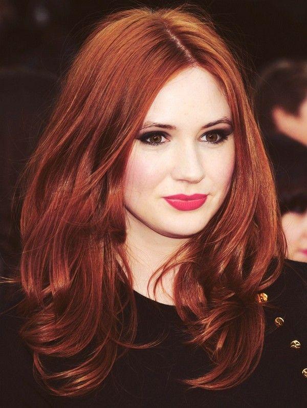 Best-Hairstyles-for-Red-Hair-Medium-Curls Best Hairstyles for Red Hair 2019