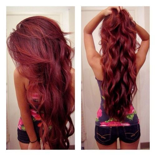 Best-Hairstyles-for-Red-Hair-Voluminous-Curls Best Hairstyles for Red Hair 2019