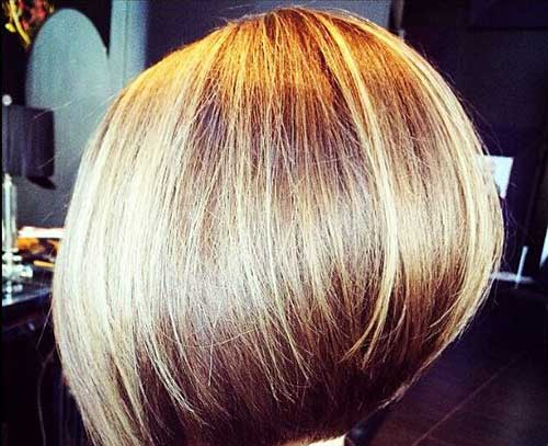 Casual-Blunt-Short-Bob-Hairstyle Casual Short Haircuts