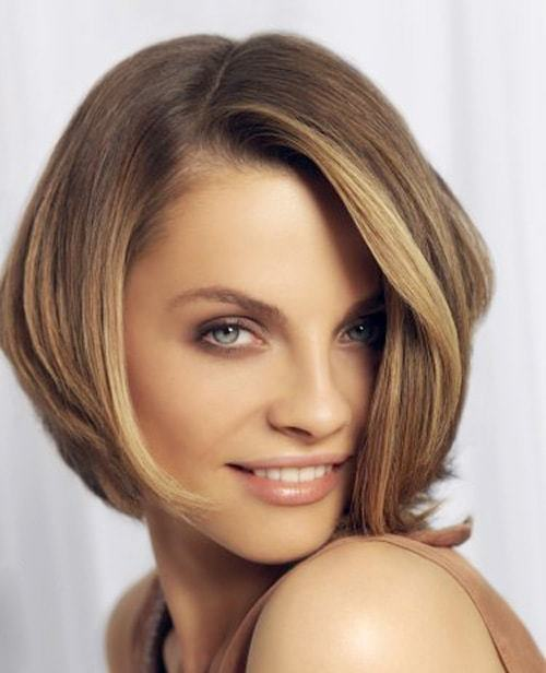 Color-experiments Hypnotic Short Hairstyles for Women with Square Faces