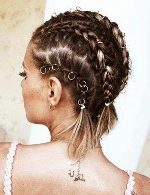 Cute-Braids-for-Short-Hair Ideas of Cute Easy Hairstyles for Short Hair