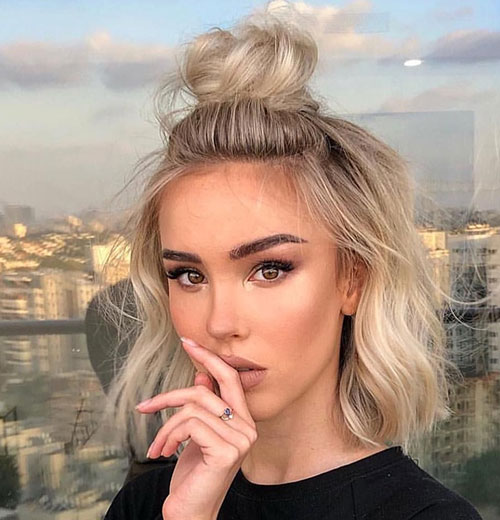 Cute-Easy-Hairstyle-for-Short-Hair Ideas of Cute Easy Hairstyles for Short Hair