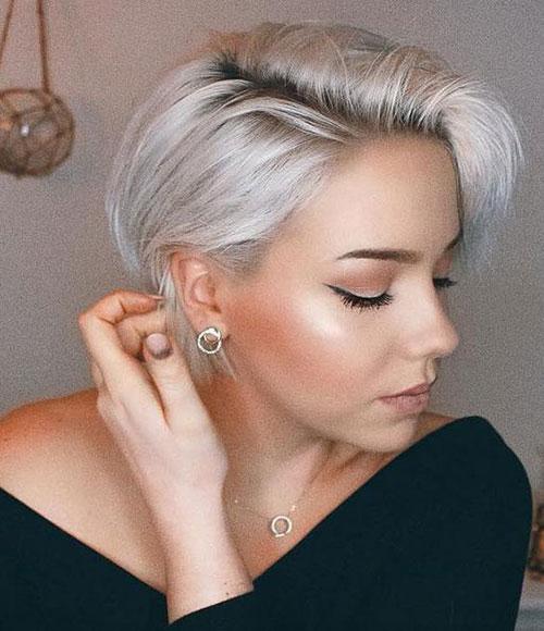 Cute-Short-Haircut Best Pics of Short Straight Blonde Hair