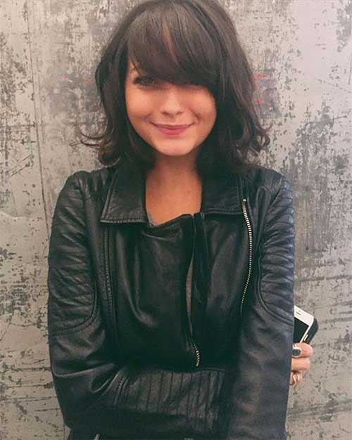 Cute-Style Most Beloved Short Haircuts with Bangs