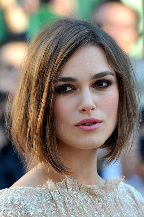 Graduated-bob Hypnotic Short Hairstyles for Women with Square Faces