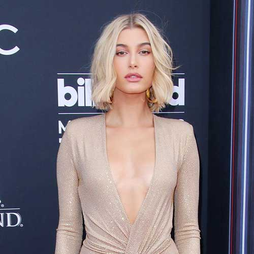 Hailey-Baldwin-Choppy-Hair Hailey Baldwin Short Hair 2019