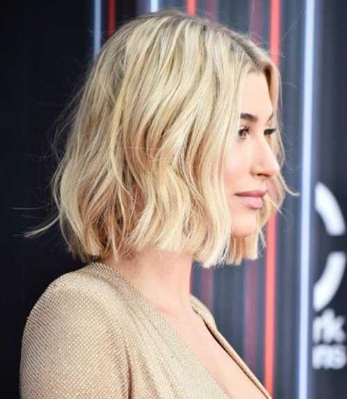 Hailey-Baldwin-Side-Hair Hailey Baldwin Short Hair 2019