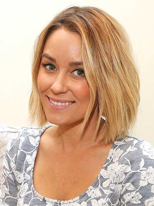 Lauren-Conrad-Cute-Short-Bob-2015 New Hairstyles for Short Hair