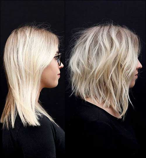 Layered-Hairstyle-1 Short Wavy Hairstyles for Women with Style